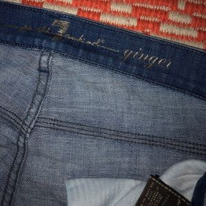 7 For All Mankind ginger size 29